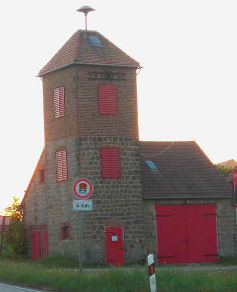 Gerätehaus Friedersdorf